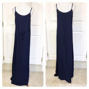 Eileen Fisher Navy maxi dress